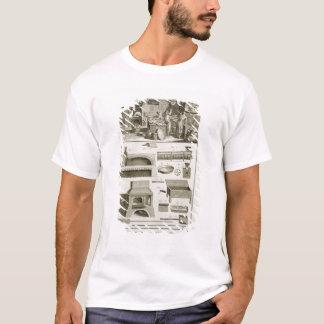 Une boulangerie et un équipement de cuisson, du t-shirt
