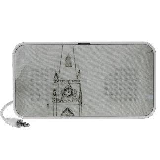 Une conception pour une église, 1821 haut-parleurs iPod