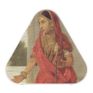 Une fille de danse indienne avec un narguilé, 1772 haut-parleur bluetooth