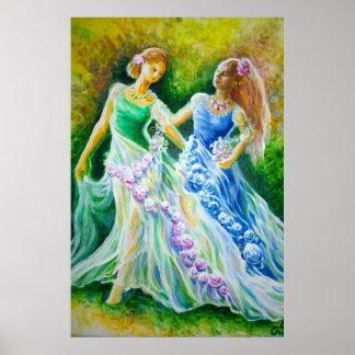 Une histoire romantique avec deux princesses