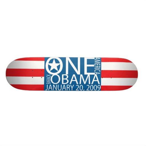 Une planche à roulettes de l'Amérique