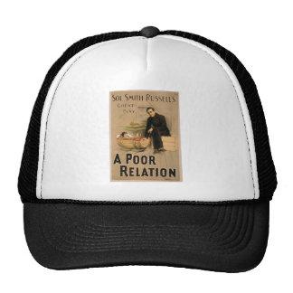 Une relation pauvre casquettes de camionneur