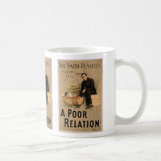 Une relation pauvre tasse à café