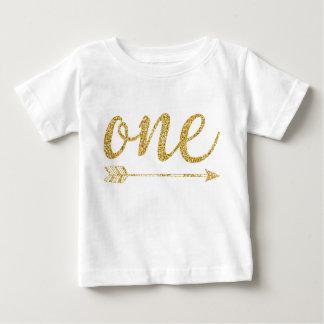 Une Scintillement-Copie d'or an T-shirt Pour Bébé