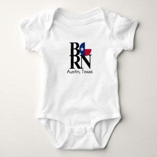 Une seule pièce NÉ de bébé d'Austin le Texas T Shirt