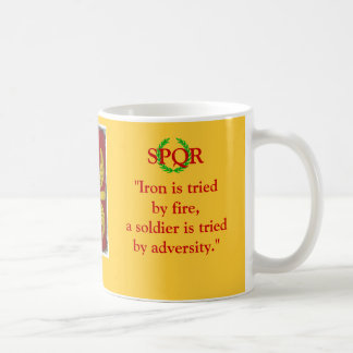 Une tasse pour un soldat de Rome