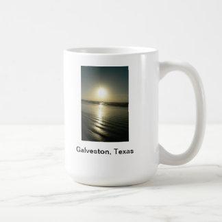Une tasse unique avec la photographie de Galveston