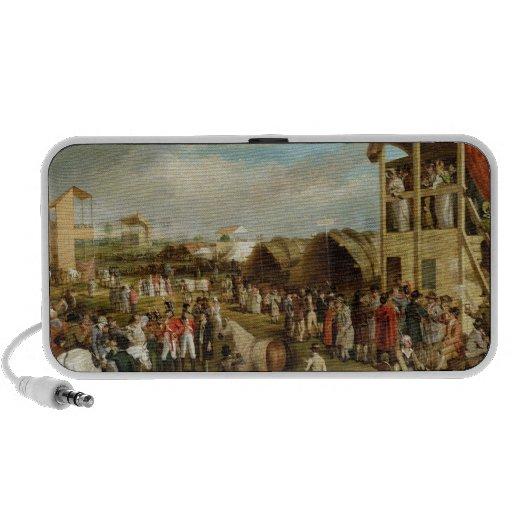Une vue étendue d'Oxford emballe (huile sur le can Haut-parleur Portable