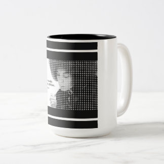 Unemployed Politicians - Angela Davis Two-Tone Coffee Mug