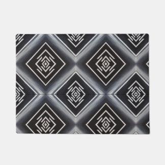 unequal rhombuses doormat