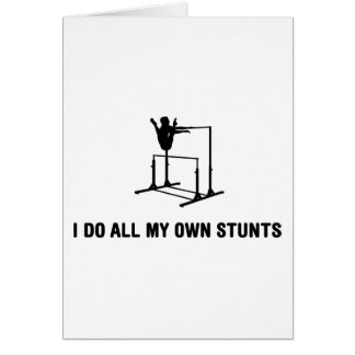 Uneven Bars Card
