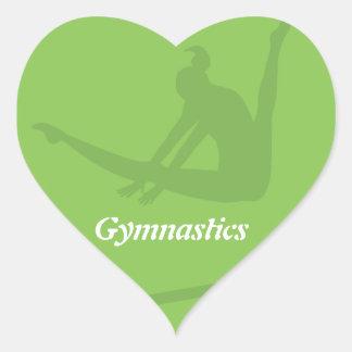 Uneven Bars Gymnastics Sticker