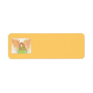 """Unfallen"" Leaf Return Label"