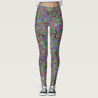 Unfazed Paint Swirl Haze Leggings