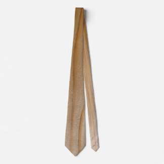Unfinished Pine Wood Carpenter's novelty tie