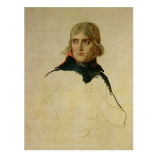 Unfinished portrait of General Bonaparte Postcard