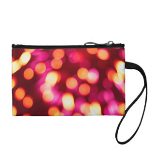Unfocused lights coin purse