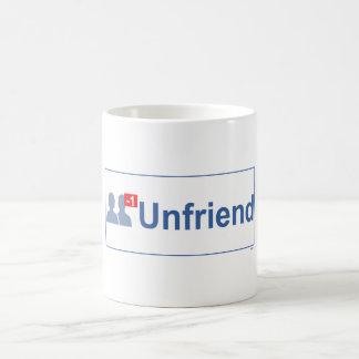 UNFRIEND Facebook Coffee Mug
