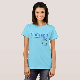 Unfriended Social Media T-Shirt