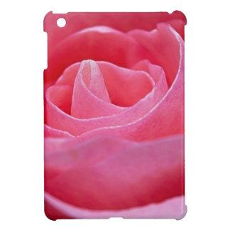 Unfurling Pink Rose iPad Mini Case