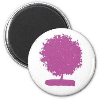 ungu aneh tree refrigerator magnets