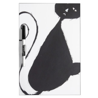 Unhappy Cat Dry Erase Whiteboards