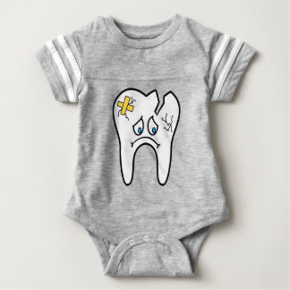 Unhealthy Tooth Baby Bodysuit