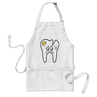 Unhealthy Tooth Standard Apron