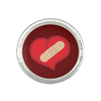 Unholy Heart Photo Ring