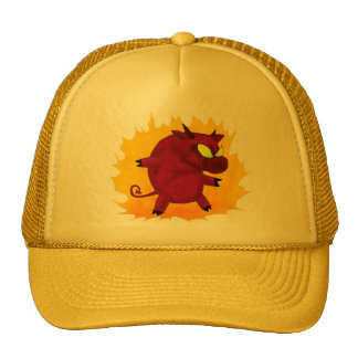 UNHOLY PIG! hat