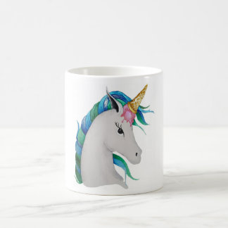 Uni-cone ice cream unicorn coffee mug
