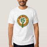 Uni pièce en t de la montre 15th-Anniversary T-shirts
