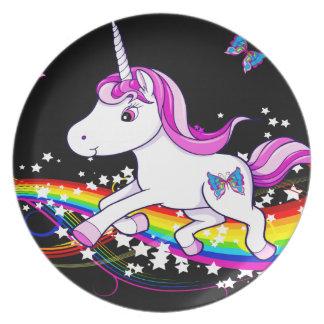 Uni Rainbow Melamine Plate