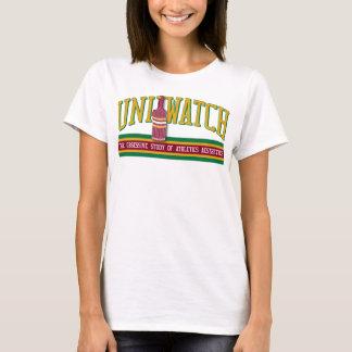 Uni Watch Babydoll (womens) T-Shirt