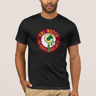 Uni Watch: Burgundy Magnifying Glass T-Shirt