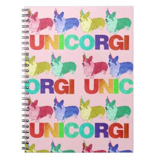 Unicorgi Notebook