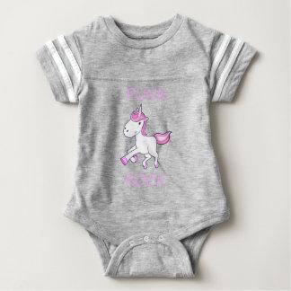 unicorn11 baby bodysuit