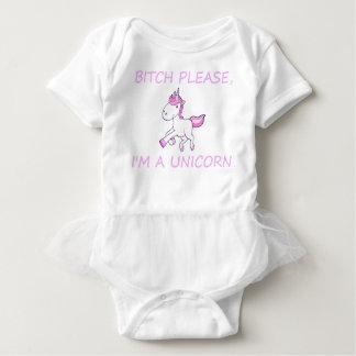 unicorn18 baby bodysuit
