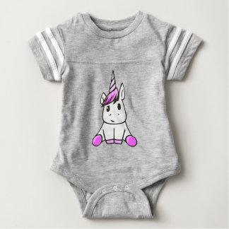unicorn7 baby bodysuit