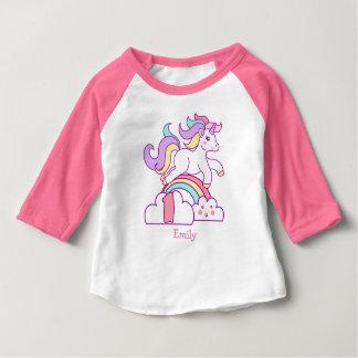 Unicorn 1st Birthday Baby T-Shirt