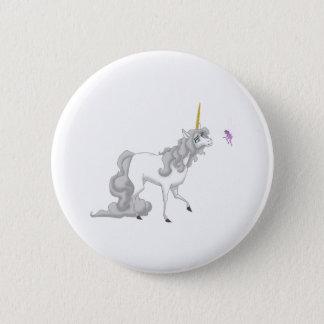 Unicorn 2 Inch Round Button