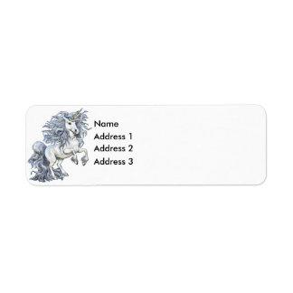 Unicorn, Address 3, Address 2, Address 1, Name Return Address Label