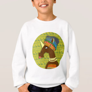Unicorn African Queen Sweatshirt