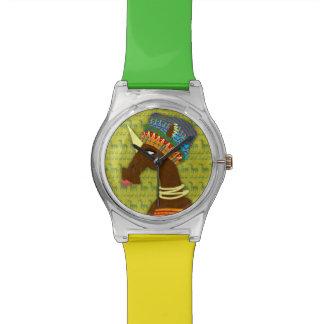 Unicorn African Queen Wristwatch