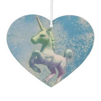 Unicorn Air Freshener Heart (Blue Arctic)