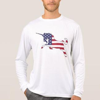 "Unicorn ""American Flag"" T-Shirt"