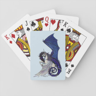 Unicorn and Dragon playing cards