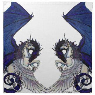 Unicorn and Dragon Wedding Lovers Napkin