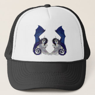 Unicorn and Dragon Wedding Lovers Trucker Hat
