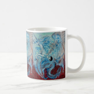 Unicorn and Dragon Yin Yang Mug